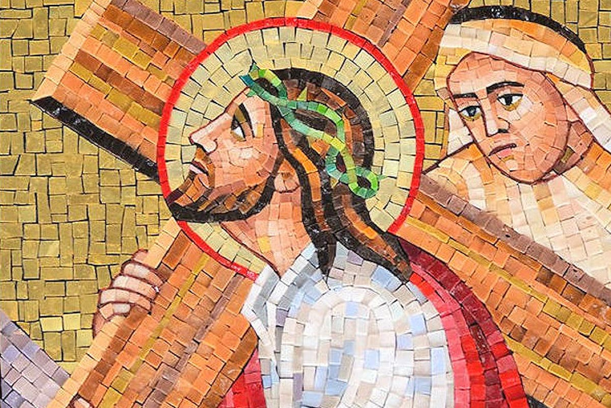 <span>Mosaic Stations of The Cross</span>