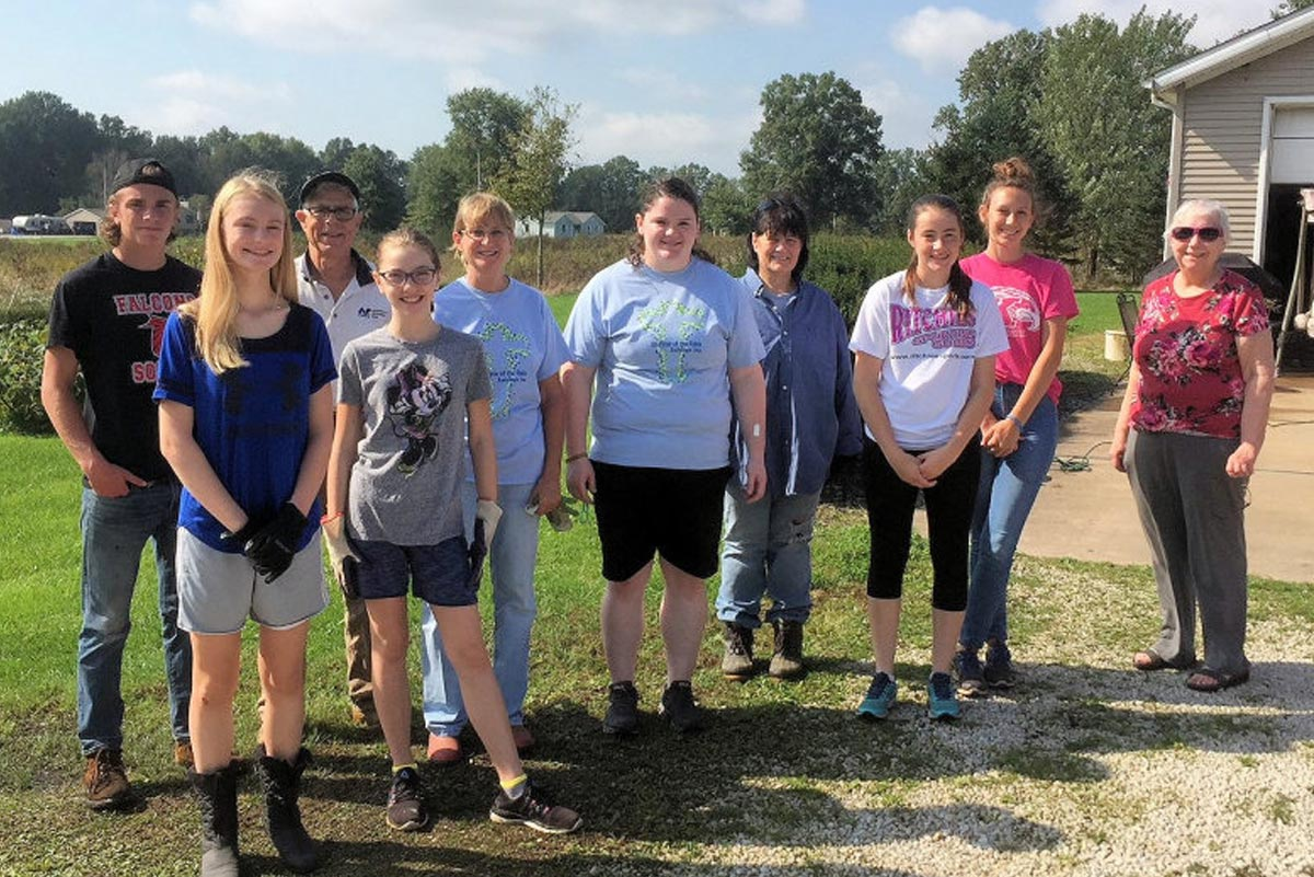 <span>Youth Group Day of Service</span>